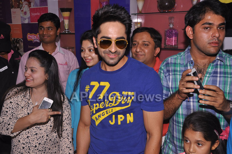 Bollywood Actor Ayushman Khurana launches Cream stone Flavours - Picture 1