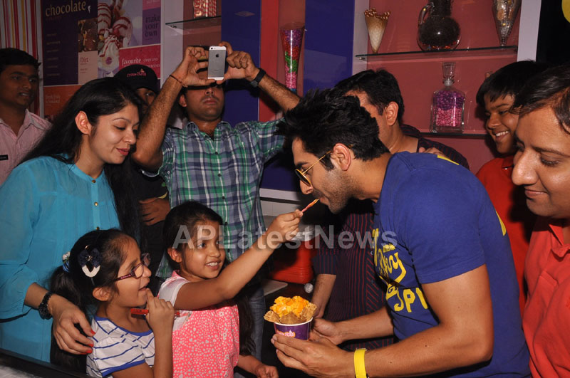 Bollywood Actor Ayushman Khurana launches Cream stone Flavours - Picture 4