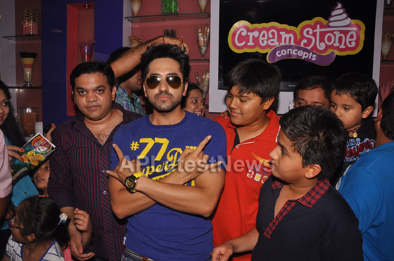 Bollywood Actor Ayushman Khurana launches Cream stone Flavours - Picture 2