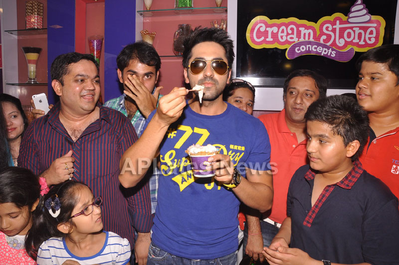 Bollywood Actor Ayushman Khurana launches Cream stone Flavours - Picture 10