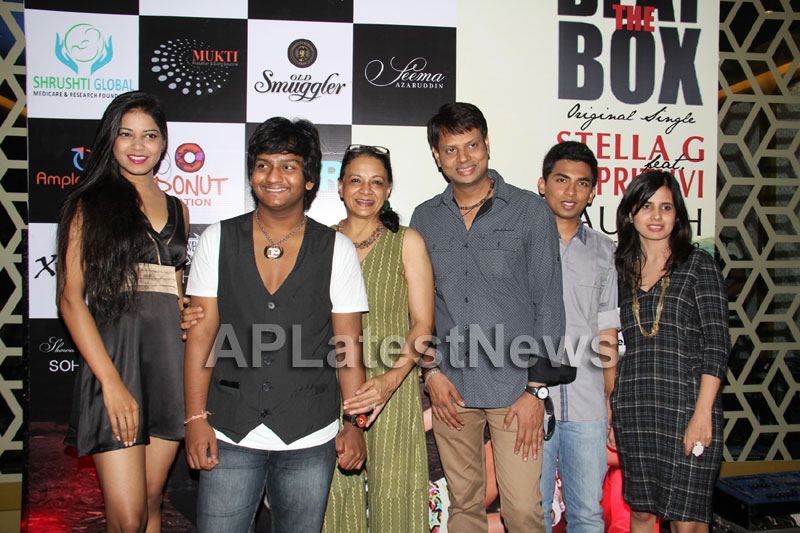 BEAT THE BOX - Internt Pop Album to be launched on 19th Oct, Hyd - DJ Prithvi, Stella G - Picture 3