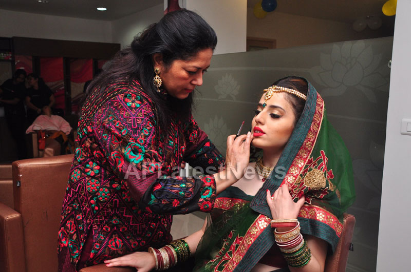 Bridal Make-up to the women of Hyderabad at Lakme, Kondapur and Somajiguda - Picture 11