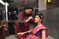 Bridal Make-up to the women of Hyderabad at Lakme, Kondapur and Somajiguda - Picture 16