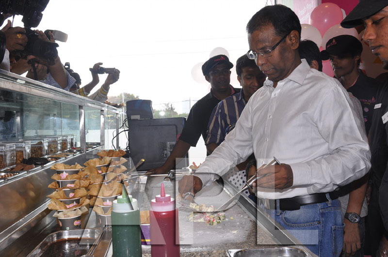 Cream Stone Ice-cream outlet opened at Kukatpally by Mr AK Khan - Picture 3
