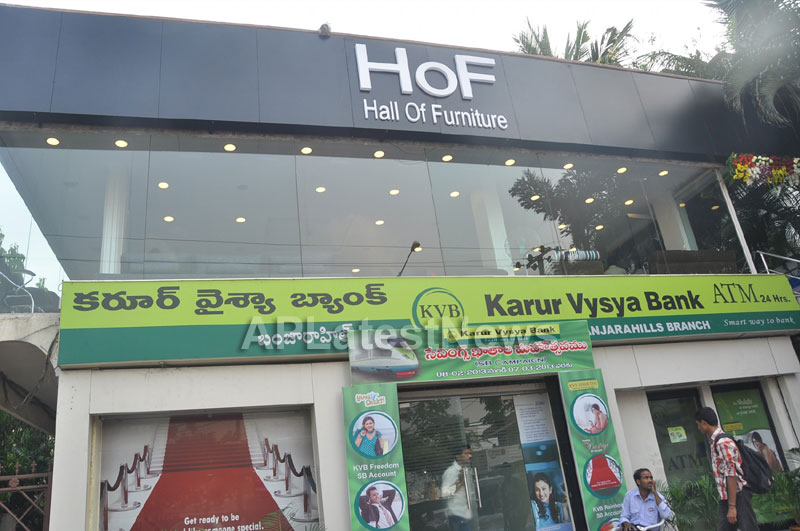 Hall of Furniture Launched at Banjara hills Inaugurated By 3G Love Movie Team - Picture 1