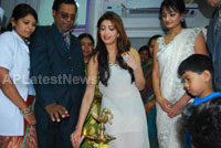 Homeo Trends Hospital Opened Inaugurated by Tollywood Actress Pranitha - News