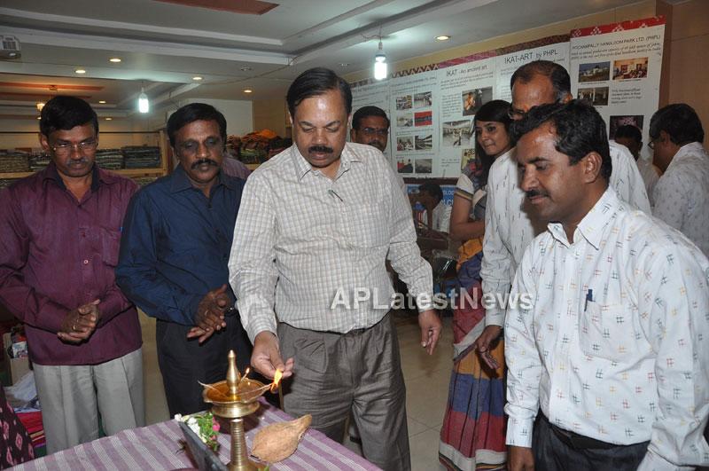 Pochampally IKAT Mela 2013 - Somajiguda - Launched by Chiranjivulu - Picture 10
