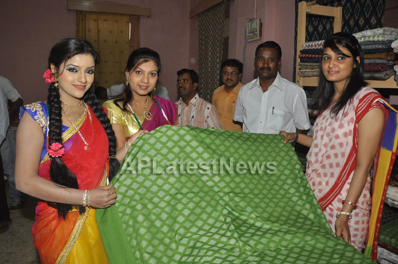 Pochampally Ikat Art Mela 2013 Launched -  by Actresses Sri Lakshmi , Padmini - Picture 13