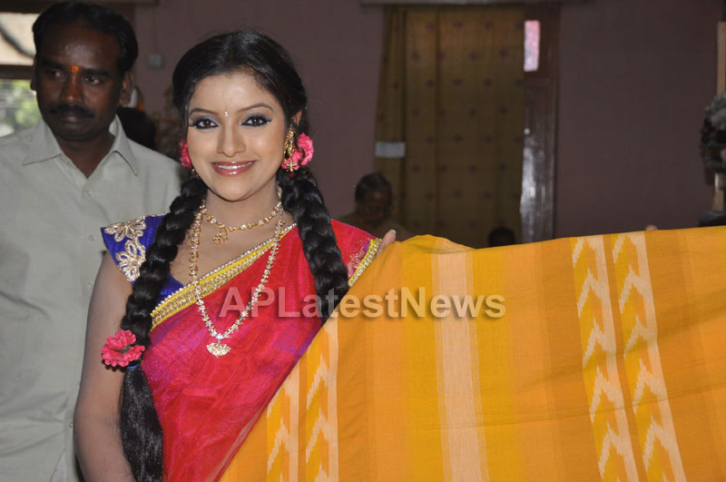 Pochampally Ikat Art Mela 2013 Launched -  by Actresses Sri Lakshmi , Padmini - Picture 7