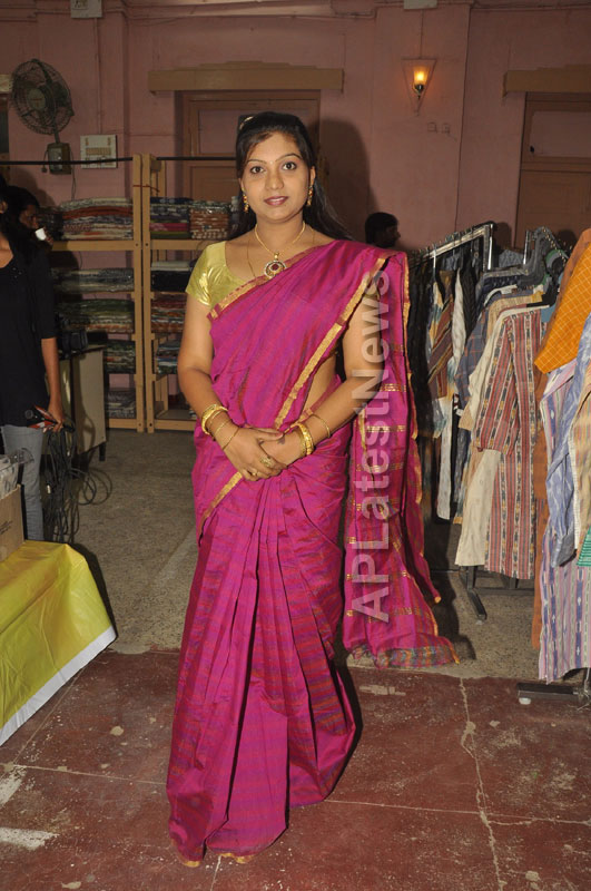 Pochampally Ikat Art Mela 2013 Launched -  by Actresses Sri Lakshmi , Padmini - Picture 3