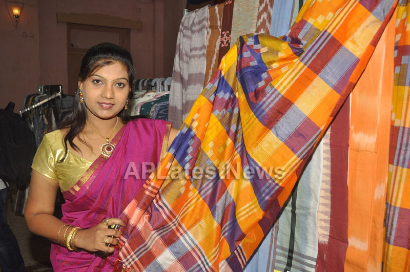 Pochampally Ikat Art Mela 2013 Launched -  by Actresses Sri Lakshmi , Padmini - Picture 5