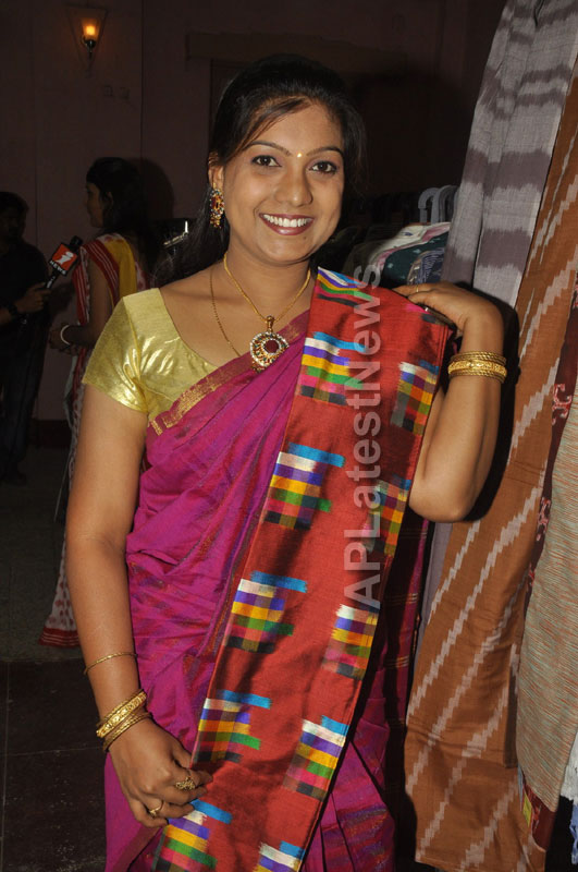 Pochampally Ikat Art Mela 2013 Launched -  by Actresses Sri Lakshmi , Padmini - Picture 4
