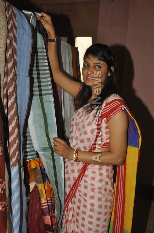 Pochampally Ikat Art Mela 2013 Launched -  by Actresses Sri Lakshmi , Padmini - Picture 12