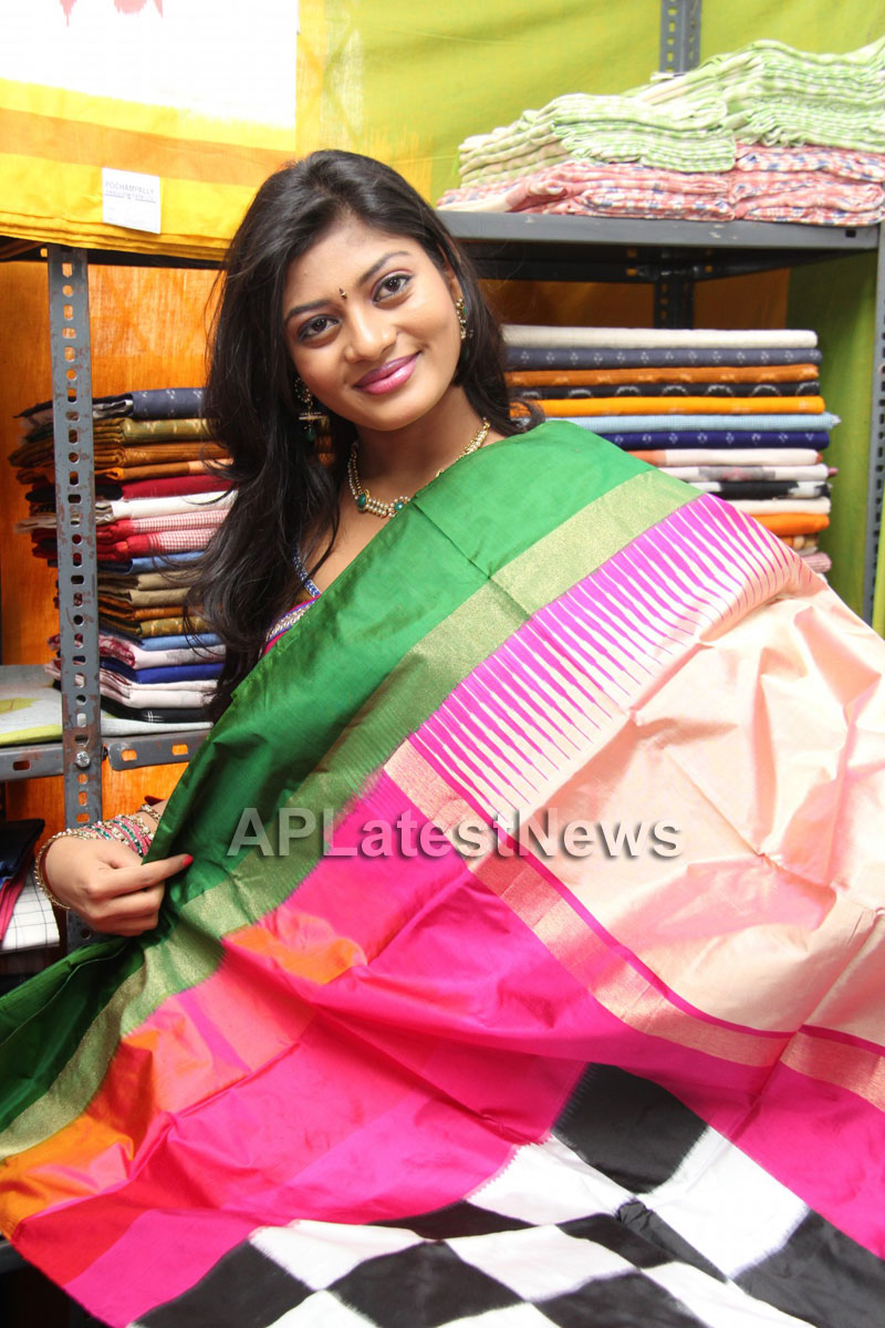 Artisans showcase their work at Pochampally IKAT Art Mela - Actress Sowmya, Secunderabad - Picture 15