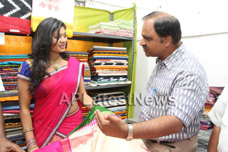 Artisans showcase their work at Pochampally IKAT Art Mela - Actress Sowmya, Secunderabad - Picture 12