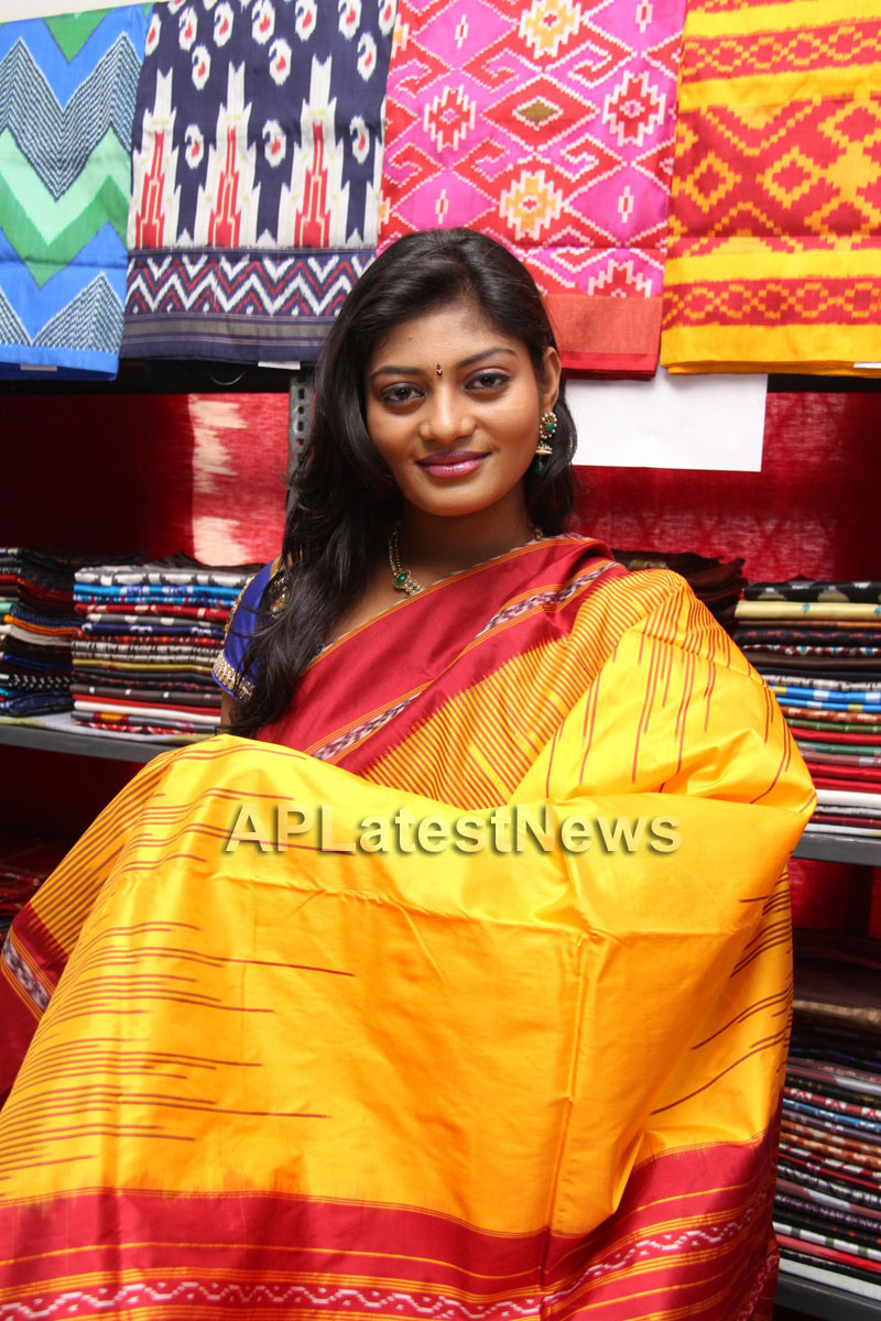 Artisans showcase their work at Pochampally IKAT Art Mela - Actress Sowmya, Secunderabad - Picture 9