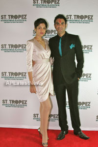 Jesse Randhawa and Sandip Soparrkar - most stylish couple of the year
