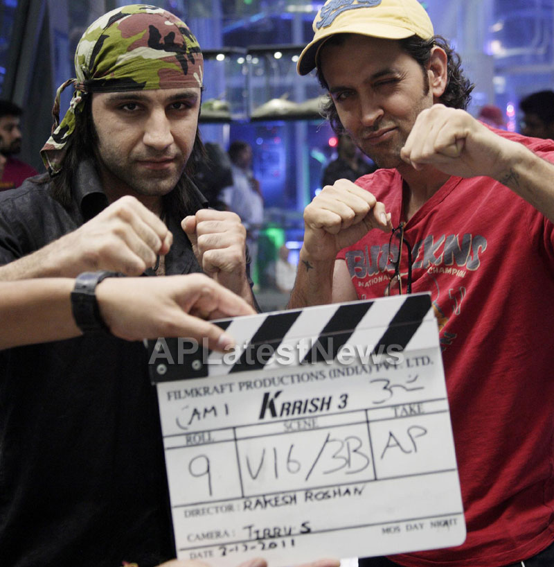 Martial Arts Action Star Sameer Ali in Krrish 3 - Picture 1