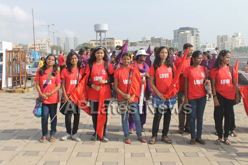 Mumbai Walks on International world peace day with the message of Human values - Picture 4