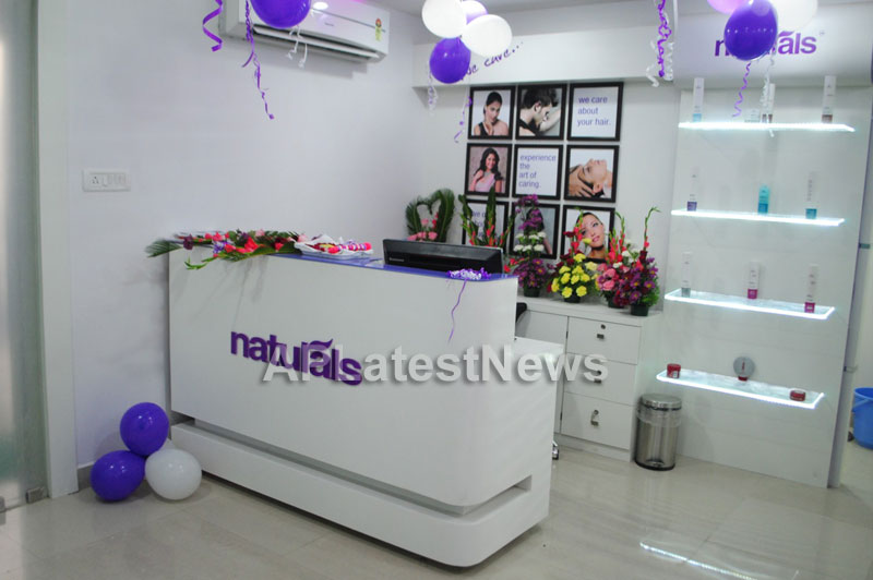 Naturals open Family Salon and Spa by Prema Ishq Kadal Movie Team, Bhimavaram - Picture 27