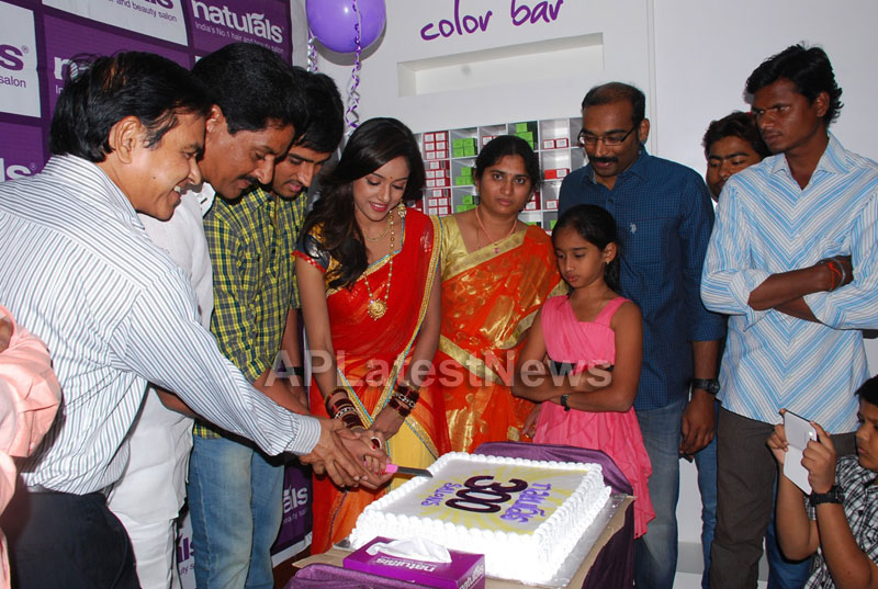 Naturals open Family Salon and Spa by Prema Ishq Kadal Movie Team, Bhimavaram - Picture 15