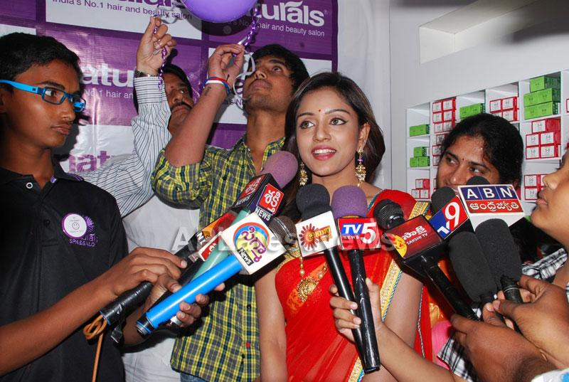 Naturals open Family Salon and Spa by Prema Ishq Kadal Movie Team, Bhimavaram - Picture 2