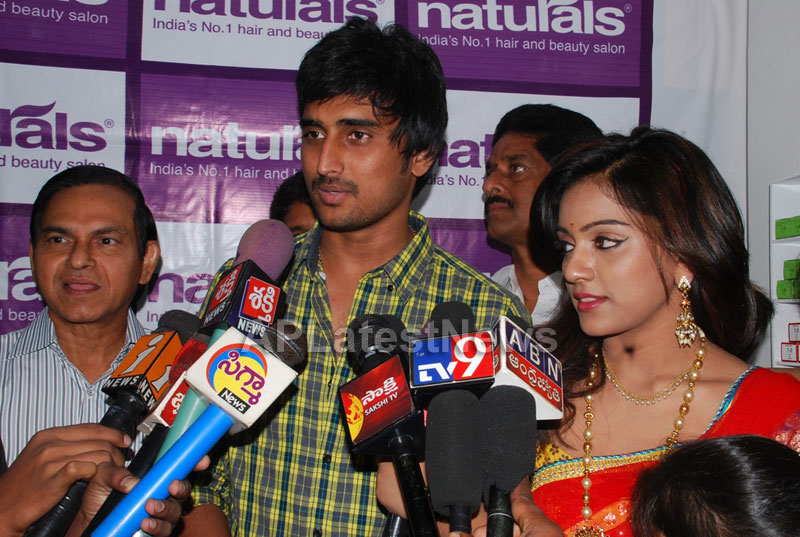 Naturals open Family Salon and Spa by Prema Ishq Kadal Movie Team, Bhimavaram - Picture 18