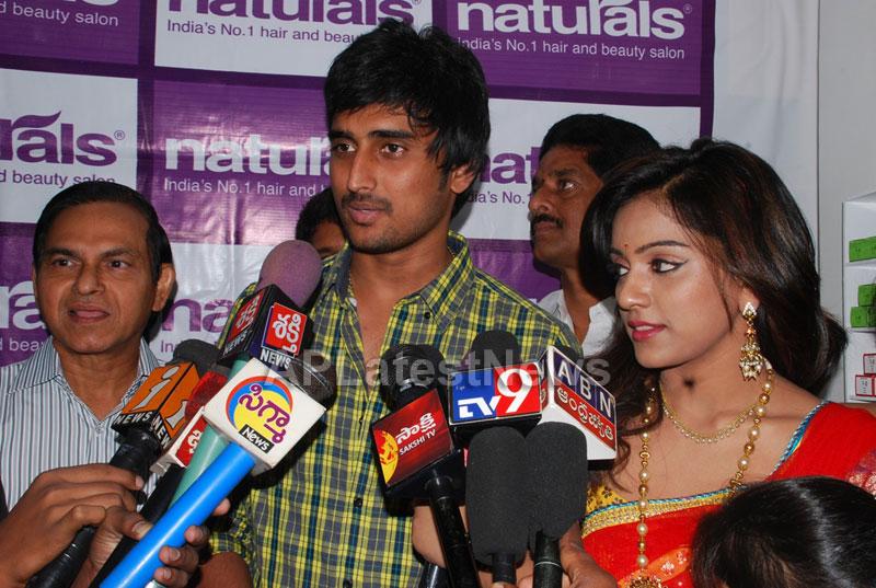 Naturals open Family Salon and Spa by Prema Ishq Kadal Movie Team, Bhimavaram - Picture 18