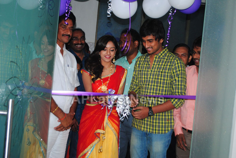 Naturals open Family Salon and Spa by Prema Ishq Kadal Movie Team, Bhimavaram - Picture 3