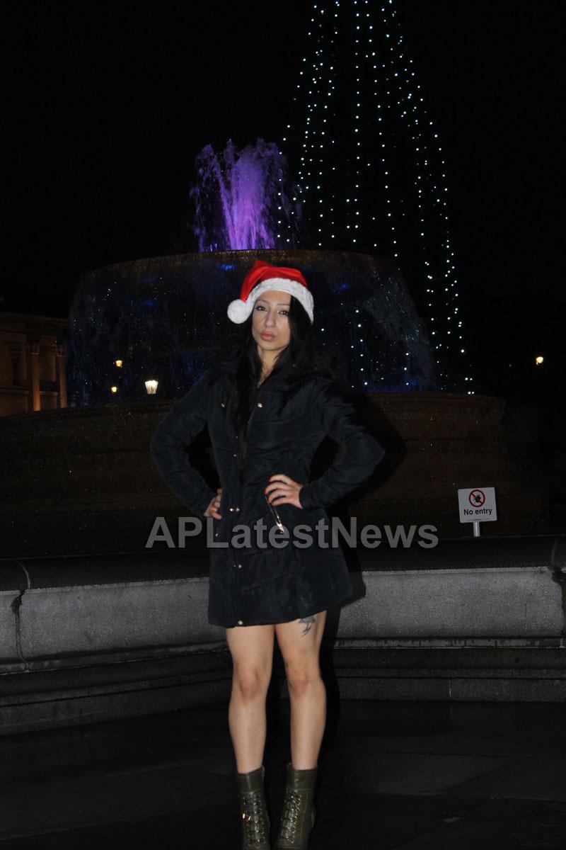 Playboy girl Shanti Dynamite turn sexy Santa clause  - Picture 3
