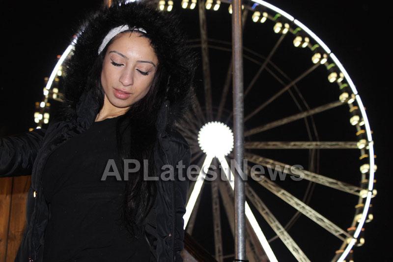 Playboy girl Shanti Dynamite turn sexy Santa clause  - Picture 8