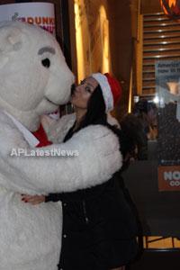 Playboy girl Shanti Dynamite turn sexy Santa clause