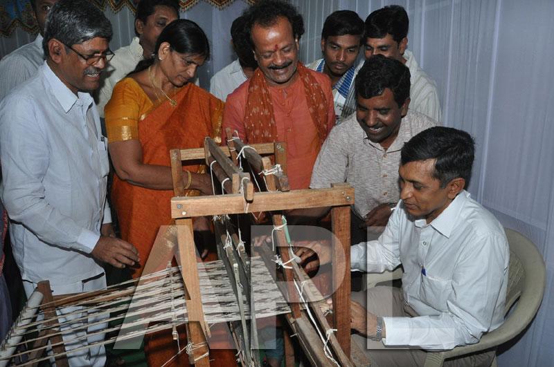 Pochampally IKAT Art  Mela 2013 - KPHB Colony - Picture 2