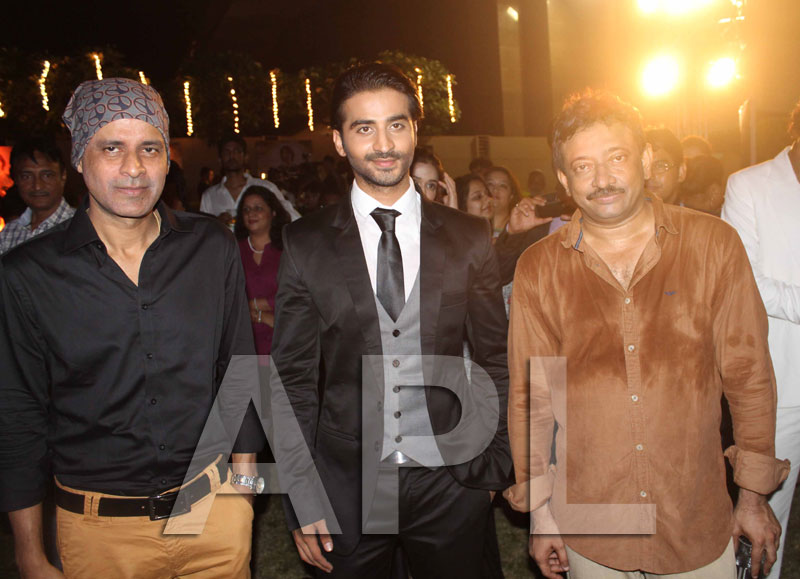 Amitabh, Suneil Shetty, Aftab and Kavya Singh attended RVG satya2 party - Picture 15