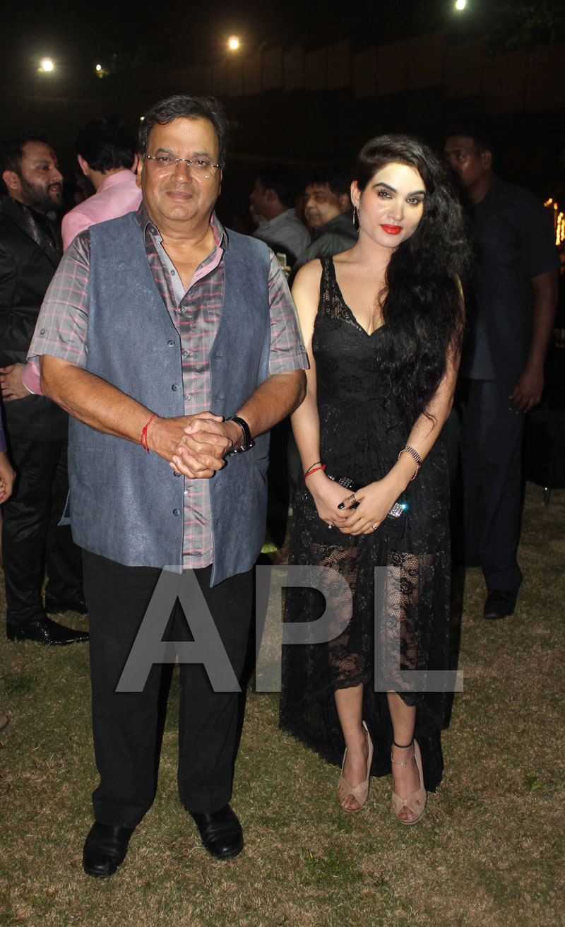 Amitabh, Suneil Shetty, Aftab and Kavya Singh attended RVG satya2 party - Picture 19