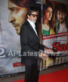 Amitabh, Suneil Shetty, Aftab and Kavya Singh attended RVG satya2 party