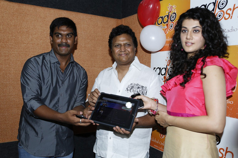 Radio Josh Global Online Telugu Radio and Mobile Divices Launched by Actress Tapsee - Picture 1
