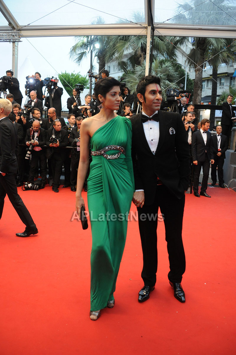 Choreographer Sandip and Jesse Indian Dance Community at 66th Cannes Film Festival - Picture 1