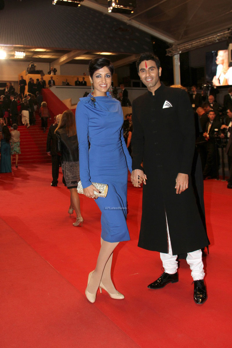Choreographer Sandip and Jesse Indian Dance Community at 66th Cannes Film Festival - Picture 4