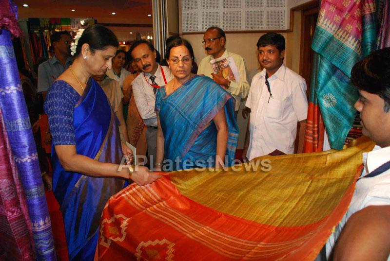 Silk Mark Expo Inaugurated by Vimala Narsimhan at Shilpakala Vedika, HYD - Picture 10