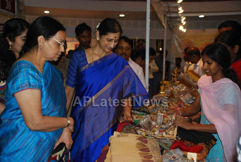Silk Mark Expo Inaugurated by Vimala Narsimhan at Shilpakala Vedika, HYD - Picture 12