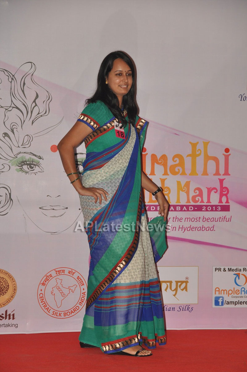 Srimathi Silk Mark, Hyderabad 2013 Auditions held - Picture 12