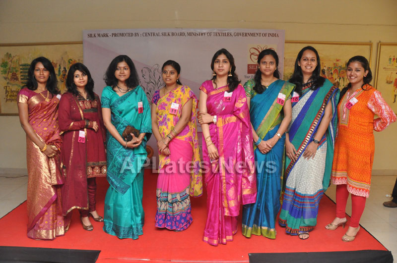 Srimathi Silk Mark, Hyderabad 2013 Auditions held - Picture 11