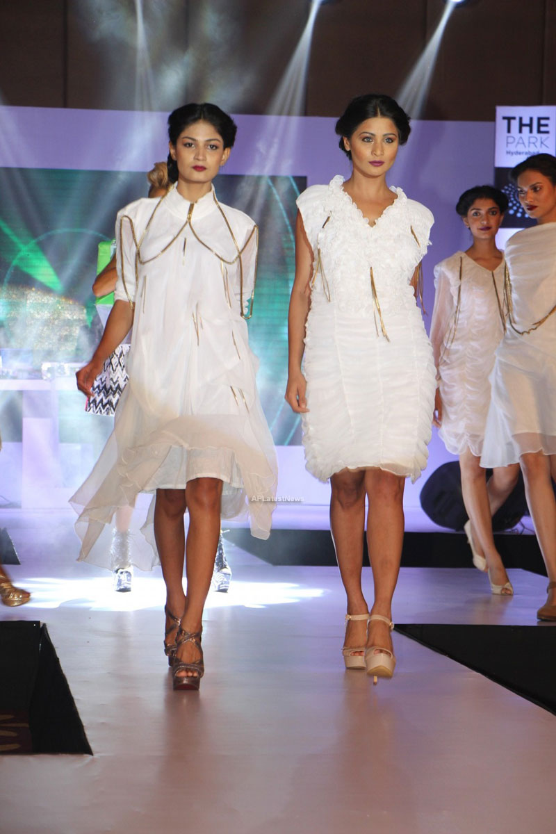 Sultry models set the ramp on fire, The Park Somajiguda, Hyderabad  - Picture 24