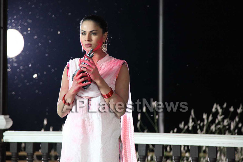 Veena Malik in the colour of Holi - Picture 3
