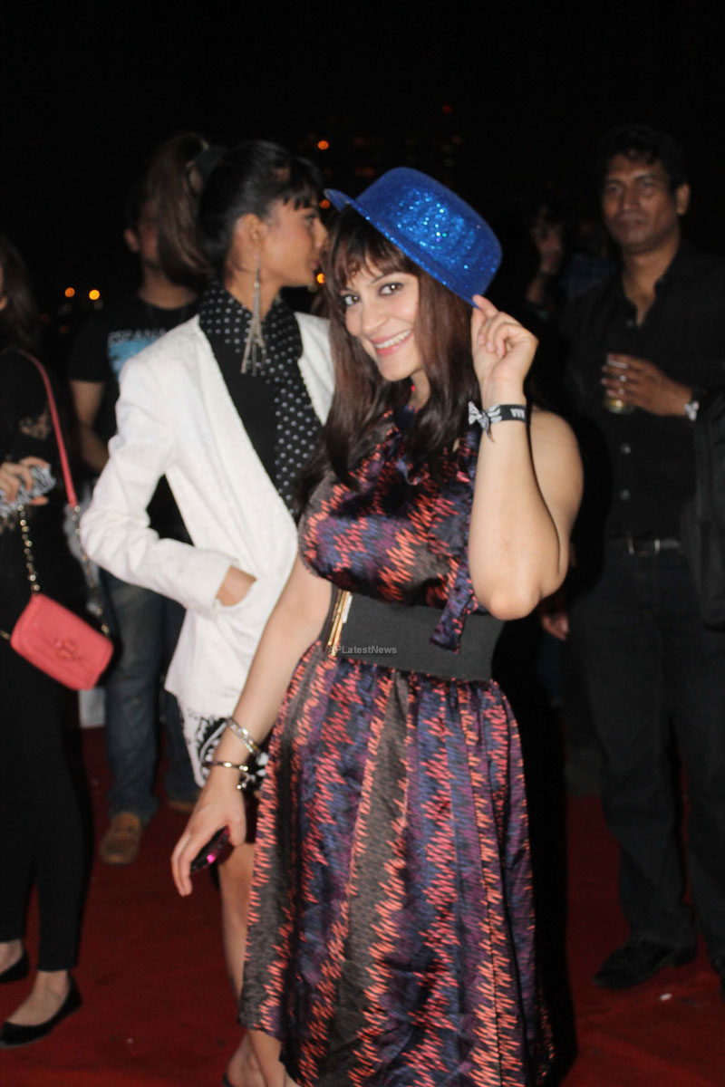 Yash, Talat, Candy, Aarti, Tina and Ali At Sunburn DJ Party - Picture 6