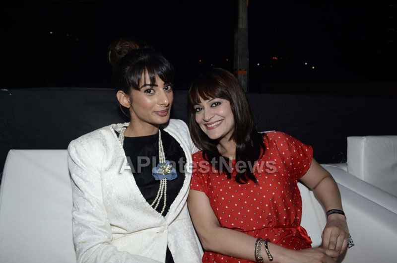 Yash, Talat, Candy, Aarti, Tina and Ali At Sunburn DJ Party - Picture 30