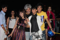 Yash, Talat, Candy, Aarti, Tina and Ali At Sunburn DJ Party - News