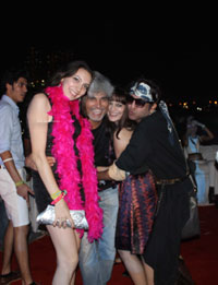 Yash, Talat, Candy, Aarti, Tina and Ali At Sunburn DJ Party - Picture 20