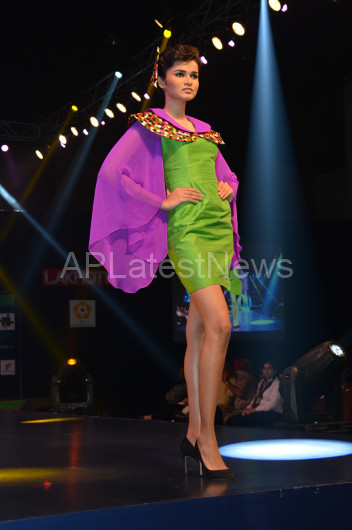 Sultry models set the ramp on fire - Lakhotia Annual Fashion Show, Hyderabad, Telangana, India - Picture 13